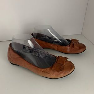 Clark's Bendables Leather Flats